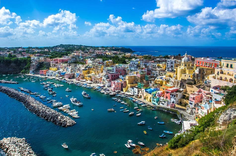 Procida Island Naples Italy
